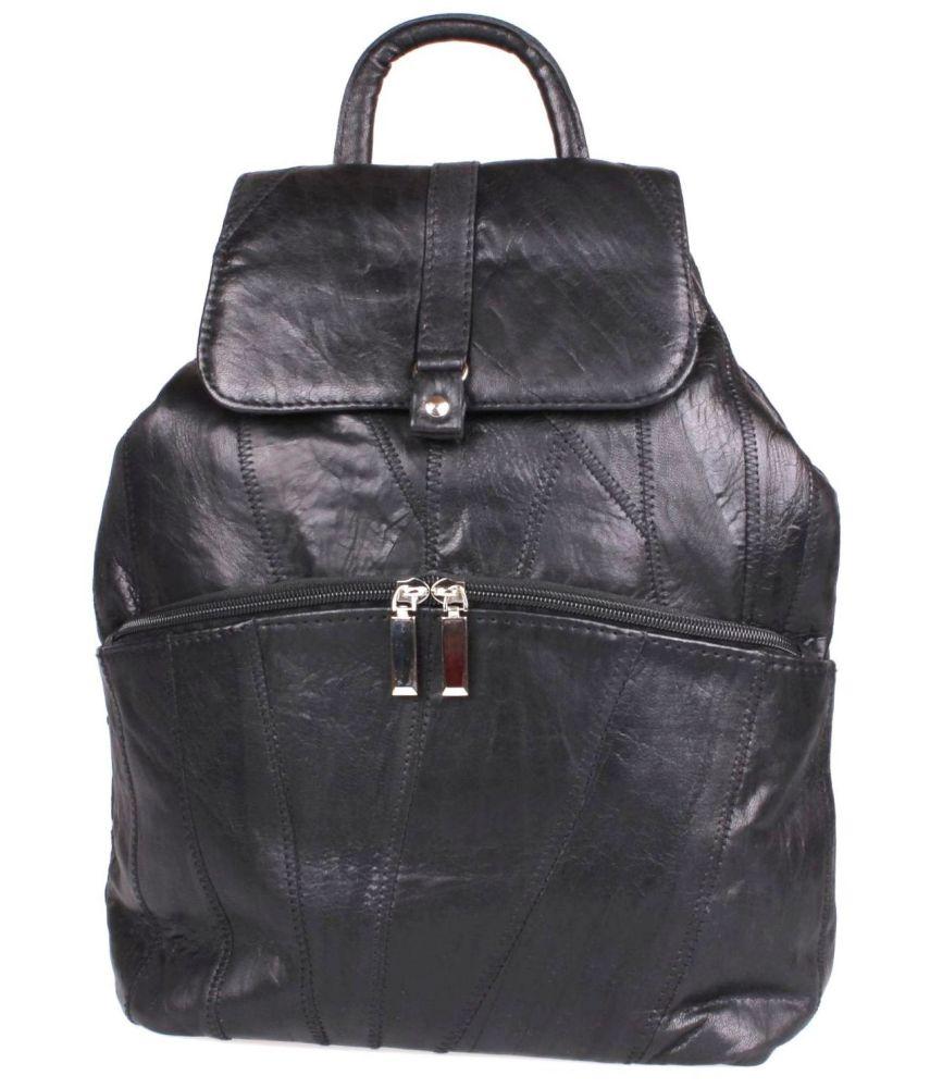 ad6f604228fe7 MIL AGA torebka-plecak damski skórzany czarny