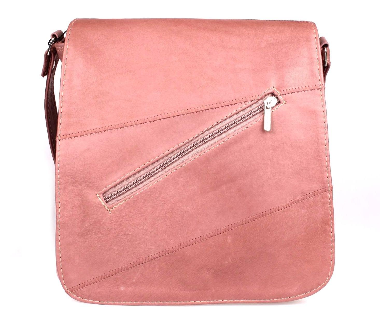 91f8a009d0447 MIL RAP torebka damska skórzana różowa