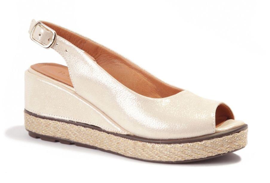 140b0b77 Badura 4710-69 sandały damskie złote