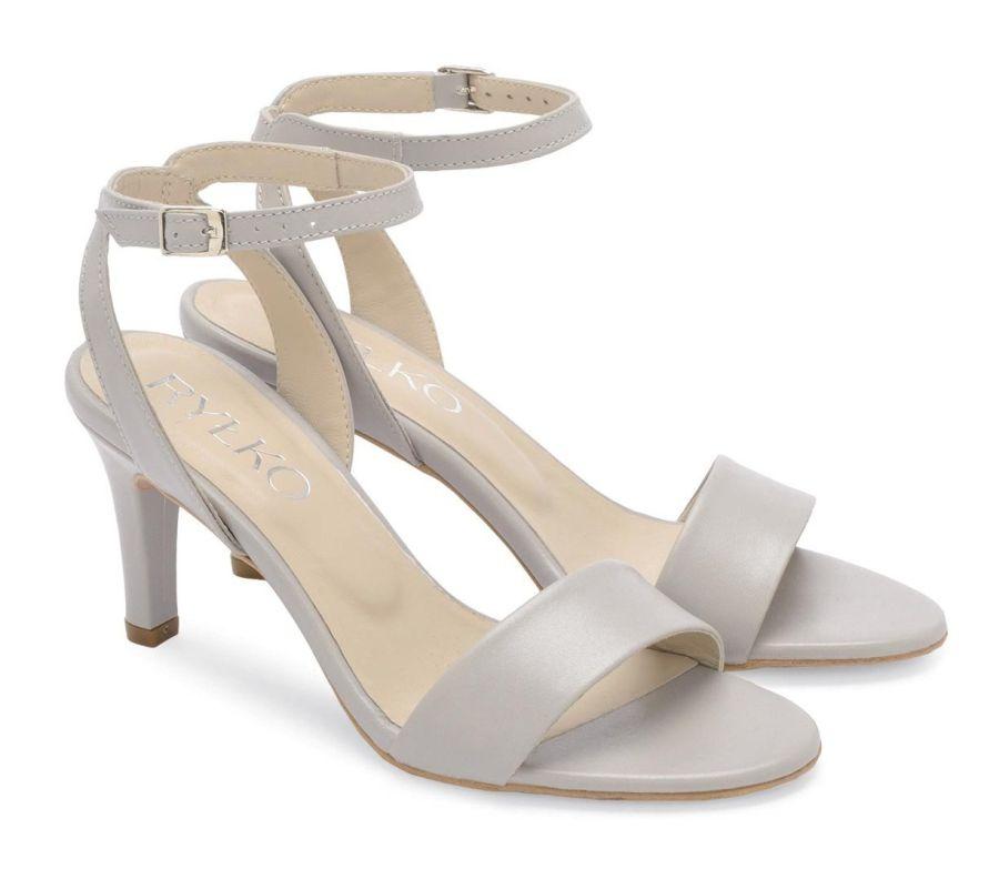 Ryłko 7NFB5_T1_XD5F sandały damskie szare sandał damski szary