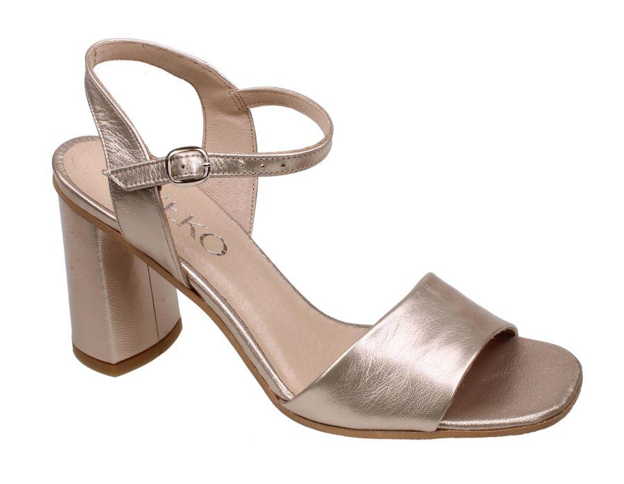 b8a92c24 Ryłko 8PH61_T1_ZD7F sandały damskie złote sandał damski złoty beżowy