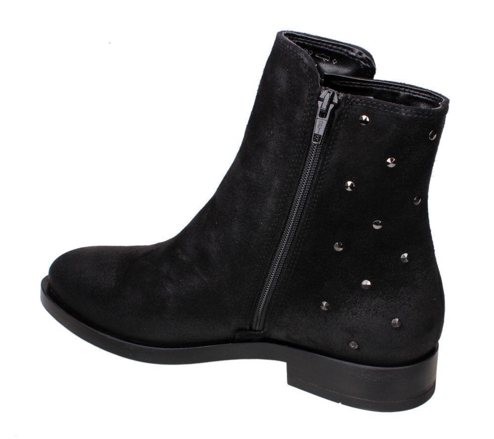 Tamaris 1 25095 23 001 BLACK botki damskie czarne