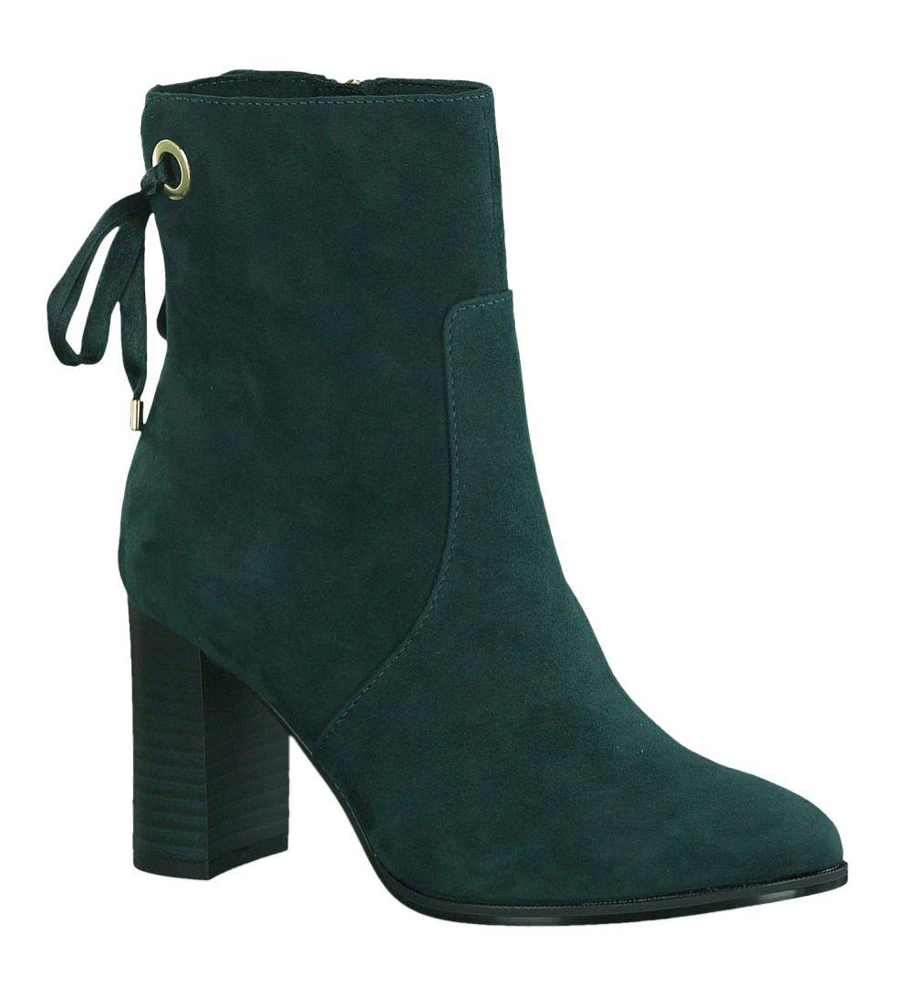 verschiedene Stile beste website neuer Stil & Luxus Tamaris 1-25380-23 789 BOTTLE botki damskie zielone