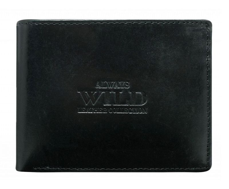 87179a95e01f9 Always Wild AR N992 MVT Portfel męski skórzany czarny 49 zl 017923