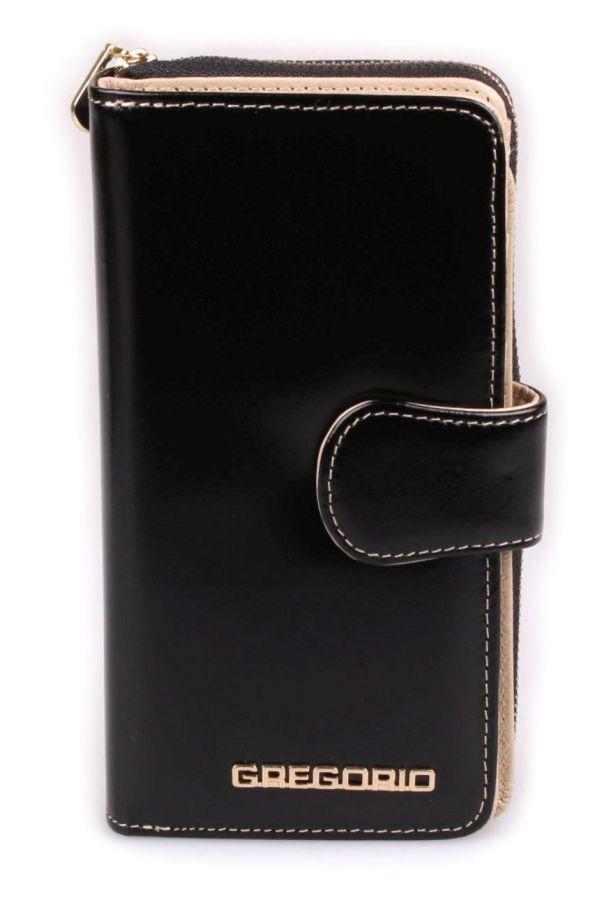 7a57e113d30e7 Gregorio AR N116 portfel damski skórzany czarny 109zl 017908