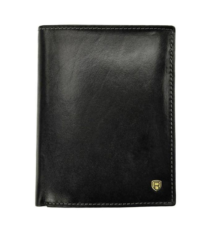 bcc1e0cf20ca4 Rovicky D1072-RVT portfel męski skórzany czarny